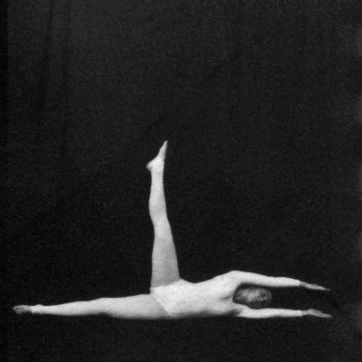 Analivia Cordeiro, Rehearsal of Dance Notation, 1976, Vintage photograph