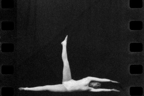 Analivia Cordeiro, Rehearsal of Dance Notation, 1976, Vintage photograph