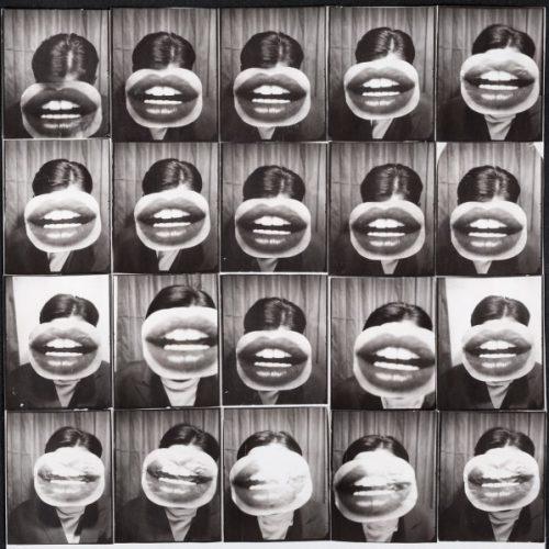 Peter Weibel, Der Kuss der Welt, 1967/1993, 92 x 92 cm