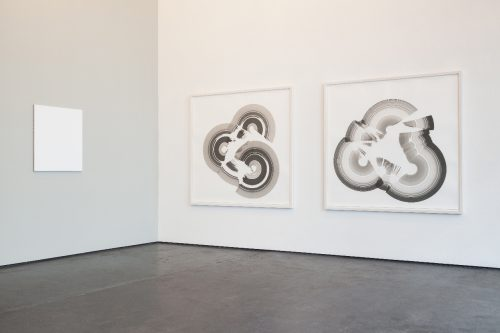 "Jan Schmidt, Installation view ""Heavy Strokes"" at Galerie Anita Beckers, 2016"