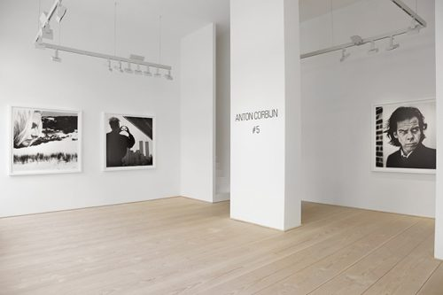 Anton Corbijn, Installation view #5 (Photo Katarina Ivanisevic)